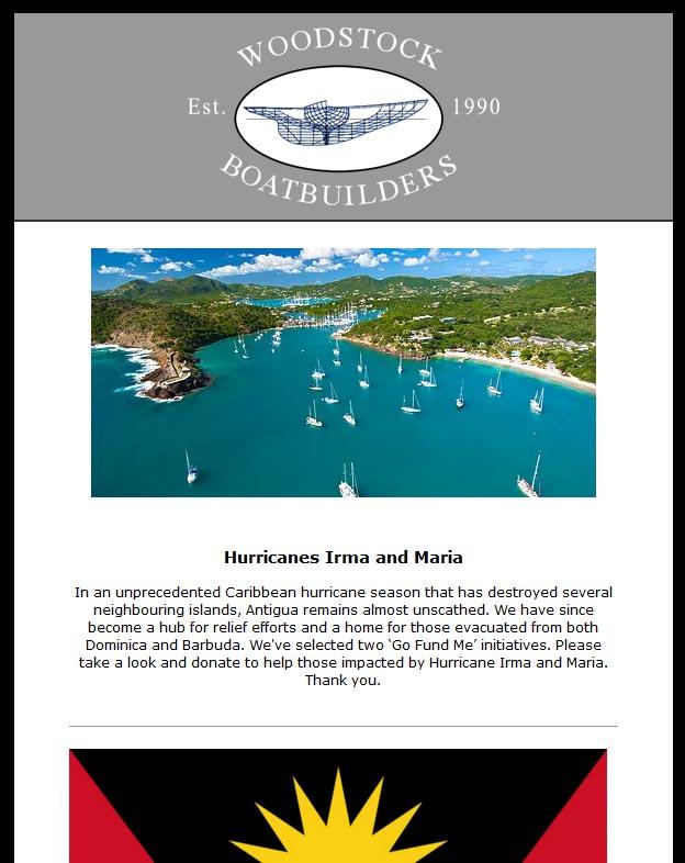 Woodstock Boatbuilders Newsletter